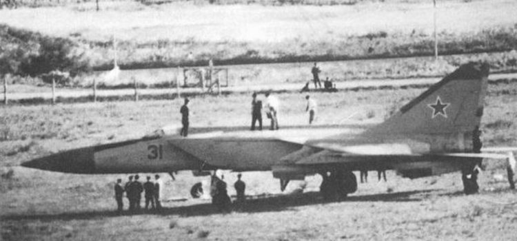 The Soviet MiG-25 Spooked the U.S. Military