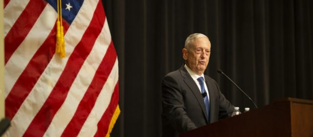 """I'm the Meryl Streep of generals,"" Mattis roasts Trump during charity dinner"