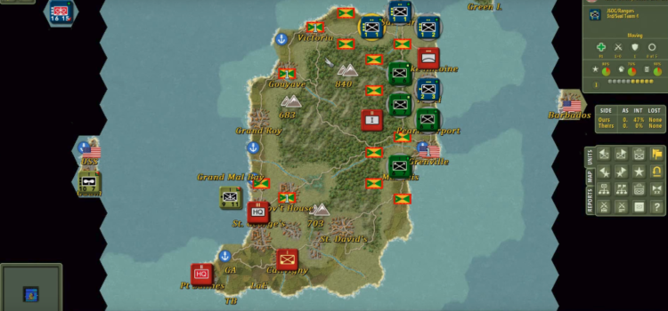 I Invaded Grenada in 'The Operational Art of War IV' | War