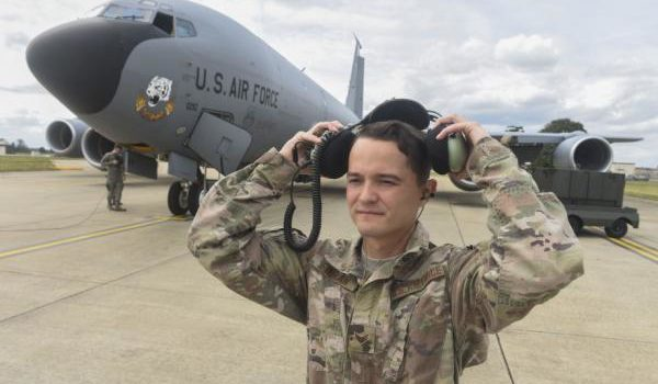Better communication: Air Force testing new headset for flight line
