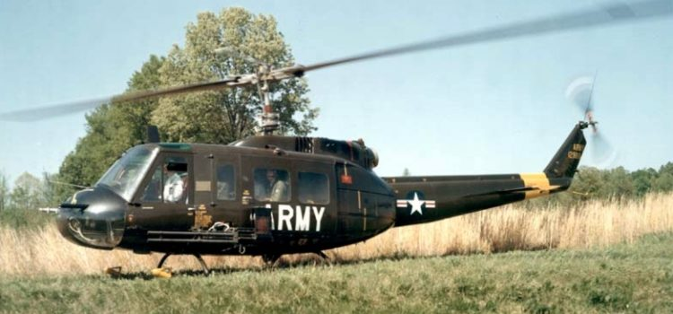 After failing training, an Army PFC stole a helo and landed it at the White House