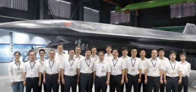 China Apparently Is Developing a Stealth Fighter Drone