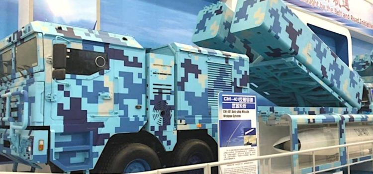 China's Got a Powerful New Anti-Ship Missile