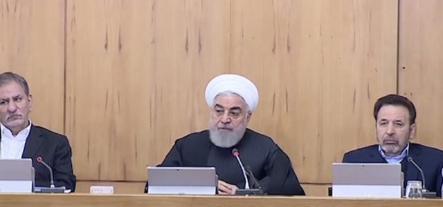 Iran's Rouhani threatens European troops amid nuclear pressure