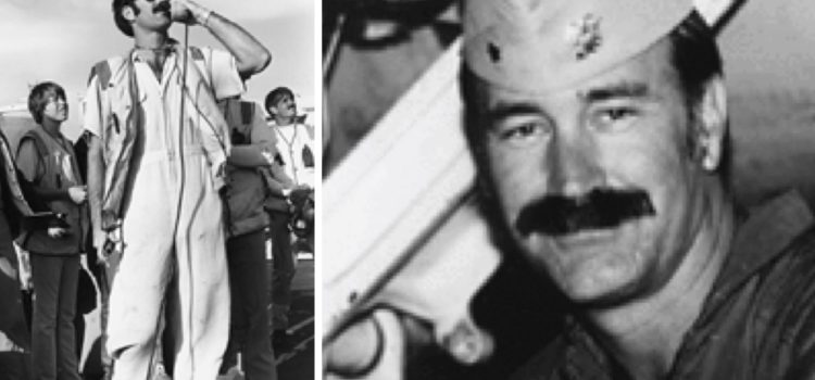 This Naval aviator was a cowboy maverick of legendary fame