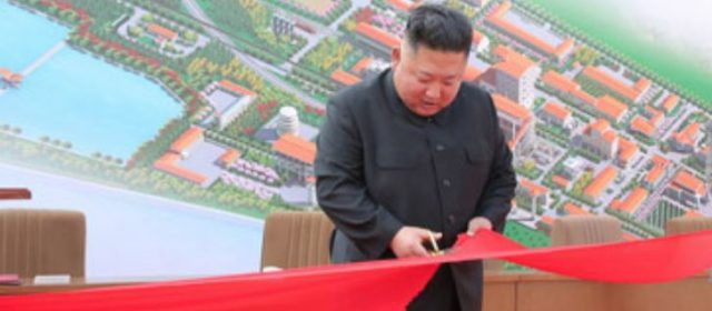Back from the dead: Kim Jong Un seen in public after weeks of speculation that he had died