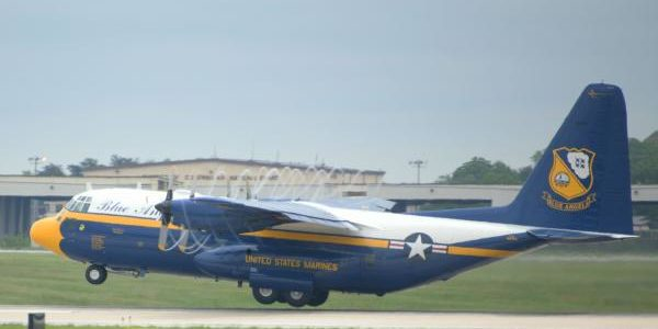 "Blue Angel's ""Fat Albert"" takes final flight"