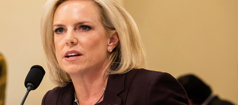 Democrats say good riddance to 'cruel' homeland security chief who wasn't tough enough for Trump