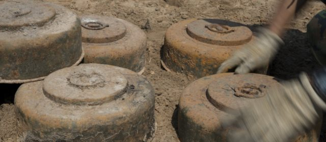 Thousands of annual landmine victims despite 20-year-old weapons ban