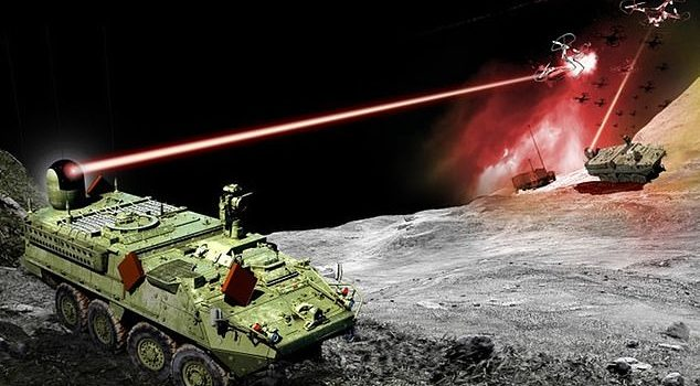 US Army is working on a laser that can incinerate enemy drones