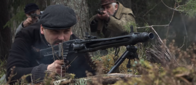 NATO Reenacts Baltic Guerrilla War