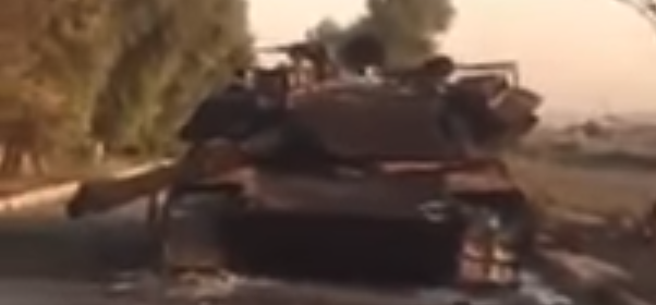 What Destroyed This Abrams Tank?