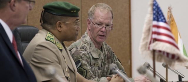 Outgoing AFRICOM leader warns of worsening security conditions in West Africa