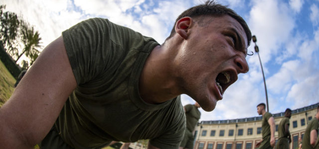 Cases of heat-related illnesses on the rise, especially among Marines