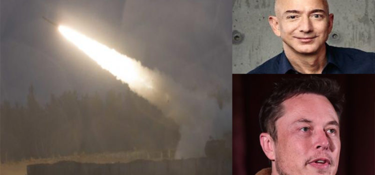 Musk & Bezos entering arms race, will bid on contracts to build rockets for US military