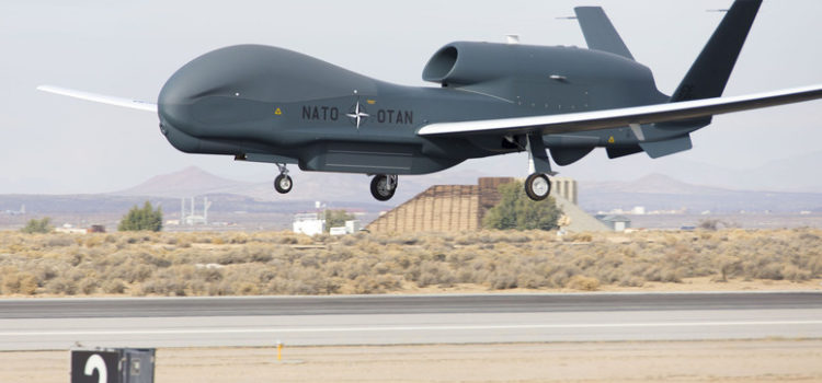 NATO has sent its first drone to Italy, will perform missions over Africa & the Middle East