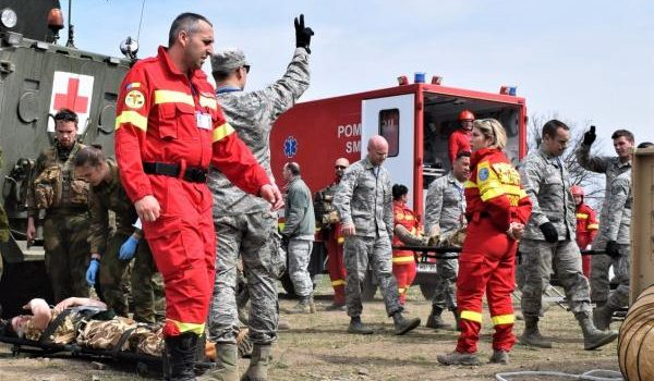 US military, allies in Romania stage largest-ever combined NATO medical exercise