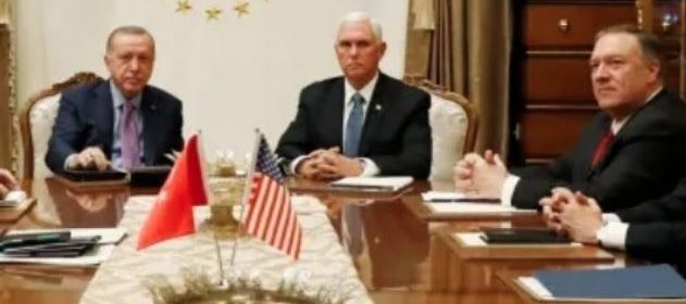 BREAKING: Vice President Pence makes ceasefire deal with Turkish President