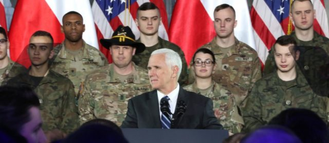 V.P. Pence in Poland to mark 80th anniversary of WWII, calls for U.S. to grow closer to European allies