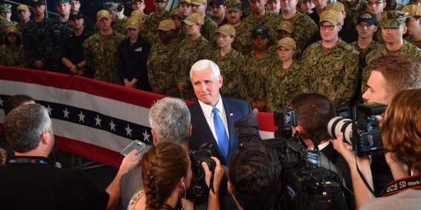 "USS Truman Master chief retiring after telling his sailors to ""clap like we're at a strip club"" during Pence visit"