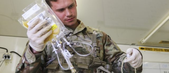 Medic!  Army testing airdrops of plasma to save wounded soldiers