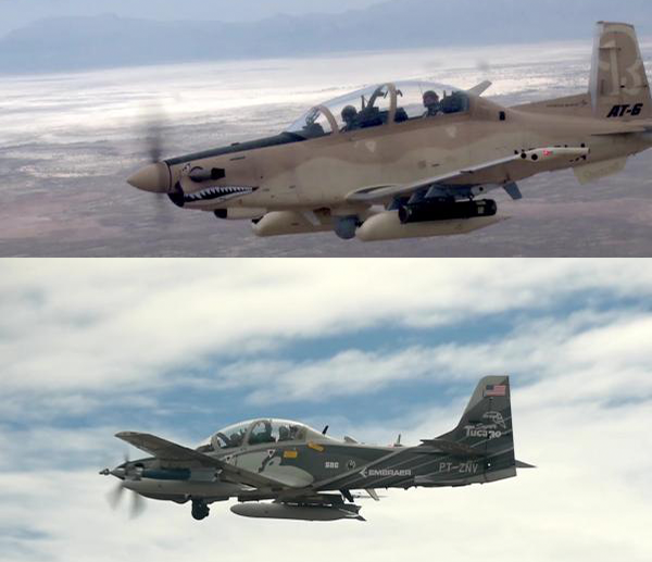 Air Force bringing back two prop planes for low-intensity conflicts