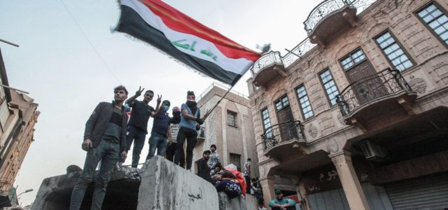Iraqi security forces open fire on protestors, kill two and injure 75