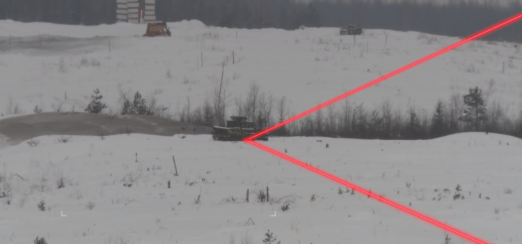 Russian Precision-Guided Artillery Shows Off — With Helper Drones