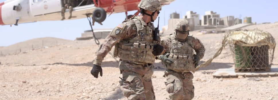 Nearly 3,000 more U.S. troops and weapons heading to Saudi Arabia & they're paying for it