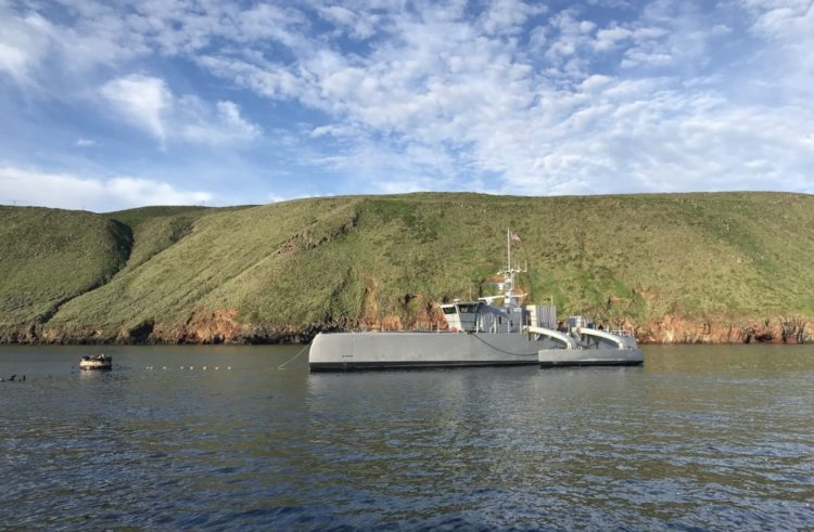 """Navy in the process of developing an unmanned """"Ghost Fleet"""""""