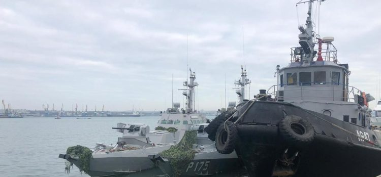 Russia denies stealing toilets from Ukrainian naval ships before returning them