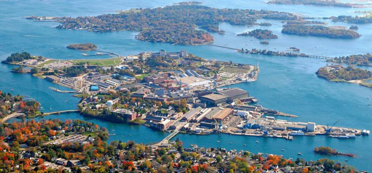 20% of Portsmouth Naval Shipyard working remotely