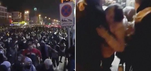 Videos show protesters in Iran were shot with live ammunition