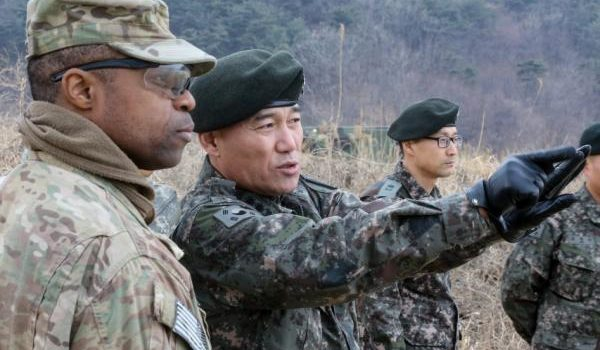 U.S. still ready in South Korea despite suspension of large-scale exercises