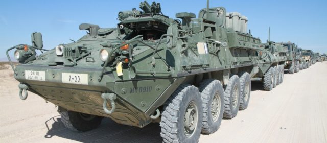 Army wants to put laser weapons on Stryker armored vehicles by 2022