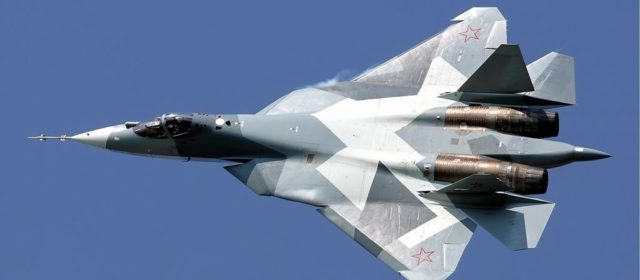 Super advanced Russian stealth fighter jet crashes, pilot bails and survives