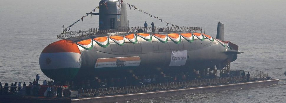 India will build six new submarines to counter rapid expansion of China's fleet