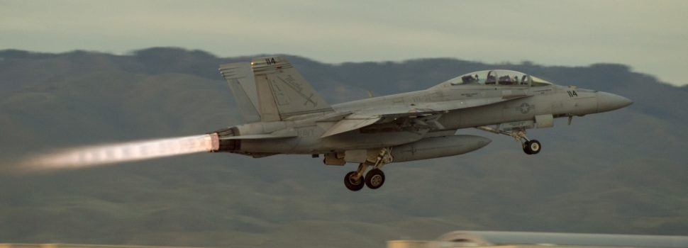 Rescue teams search for missing pilot after Super Hornet crashes during training flight