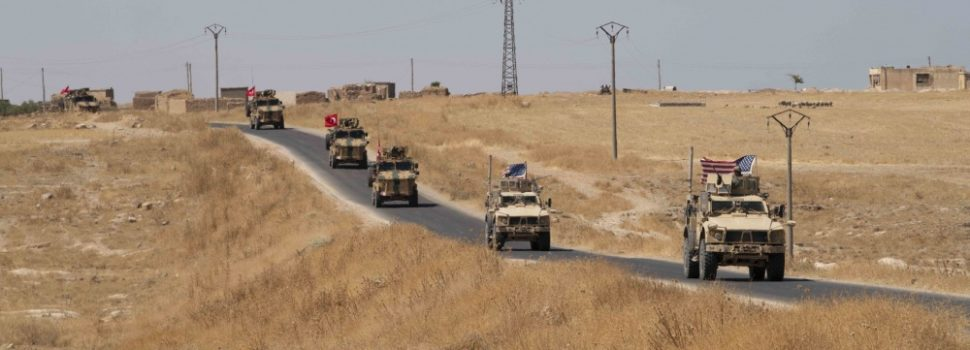 Turkey sending troops into Syria, U.S. pulling back soldiers which leaves Kurdish forces exposed