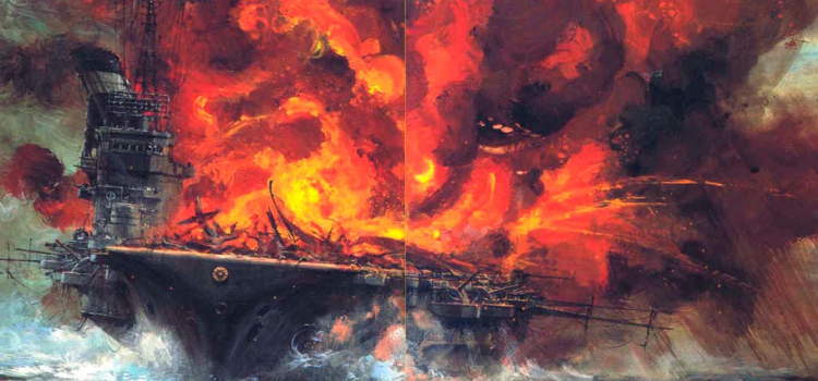 The Japanese Carrier 'Taiho' Blew Up Due to a Terrible Mistake