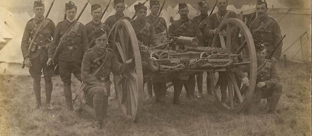 As World War I Loomed, the British Army Finally Took Its Machine Guns Off Carriages