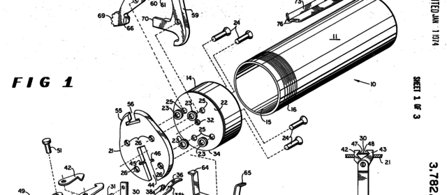 Maxwell Atchisson Invented a Disposable Grenade-Launcher