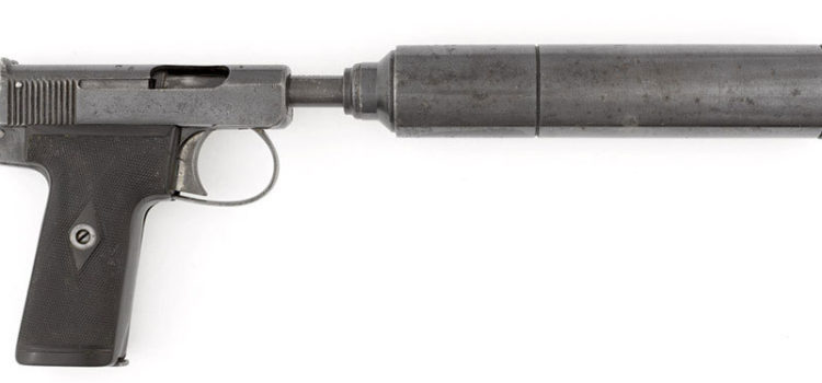 It's a Mystery What British Special Operators Did With This Silenced Pistol