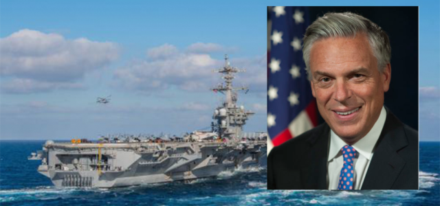 US ambassador to Russia meets Navy leaders in Italy to discuss response to Russian naval activity in the region