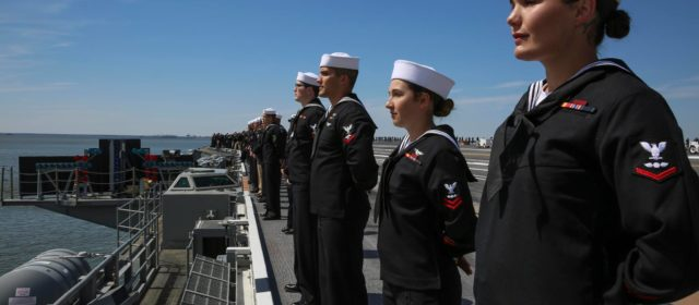 After 7 years in Norfolk, the USS Abraham Lincoln leaves for deployment and a new home