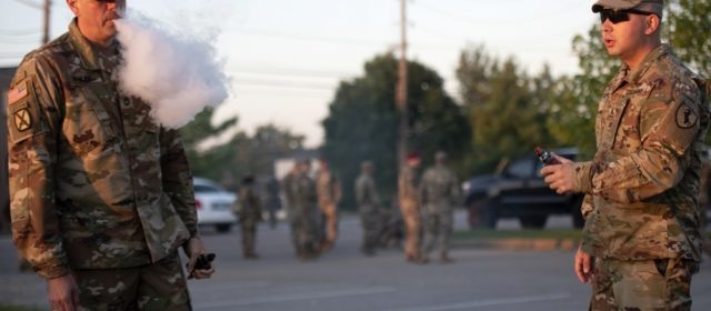Two more soldiers suffering from vaping-related injuries, Army issues warning