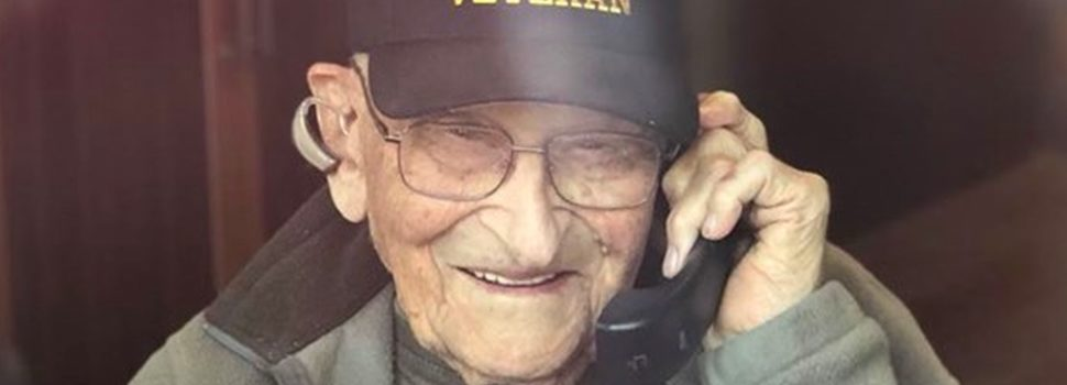 104-year-old WWII veteran beats the coronavirus, says he's ready for a haircut