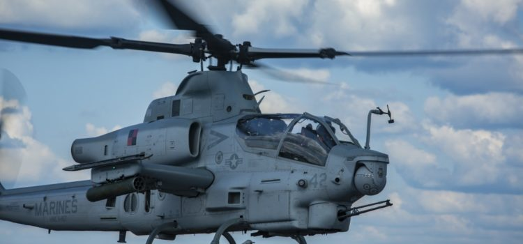 Deadly Duo: Viper helicopters share the sky with radar-jamming F-35Bs