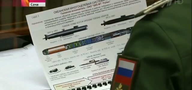 Russia's Giant Nuclear Torpedo Is Apparently Real