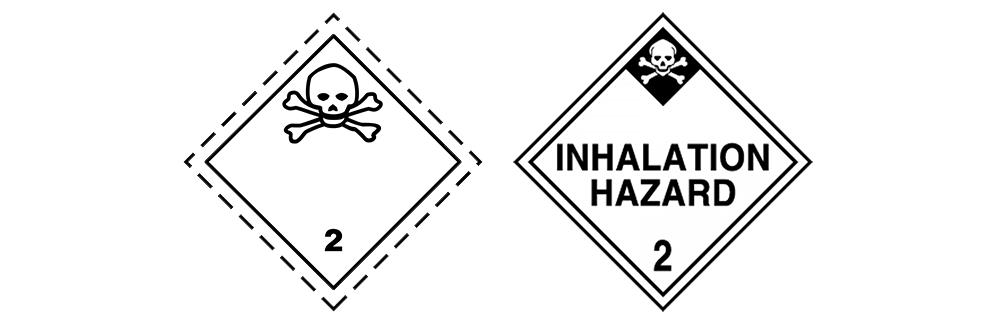 hazardous material class 2.3 toxic gases